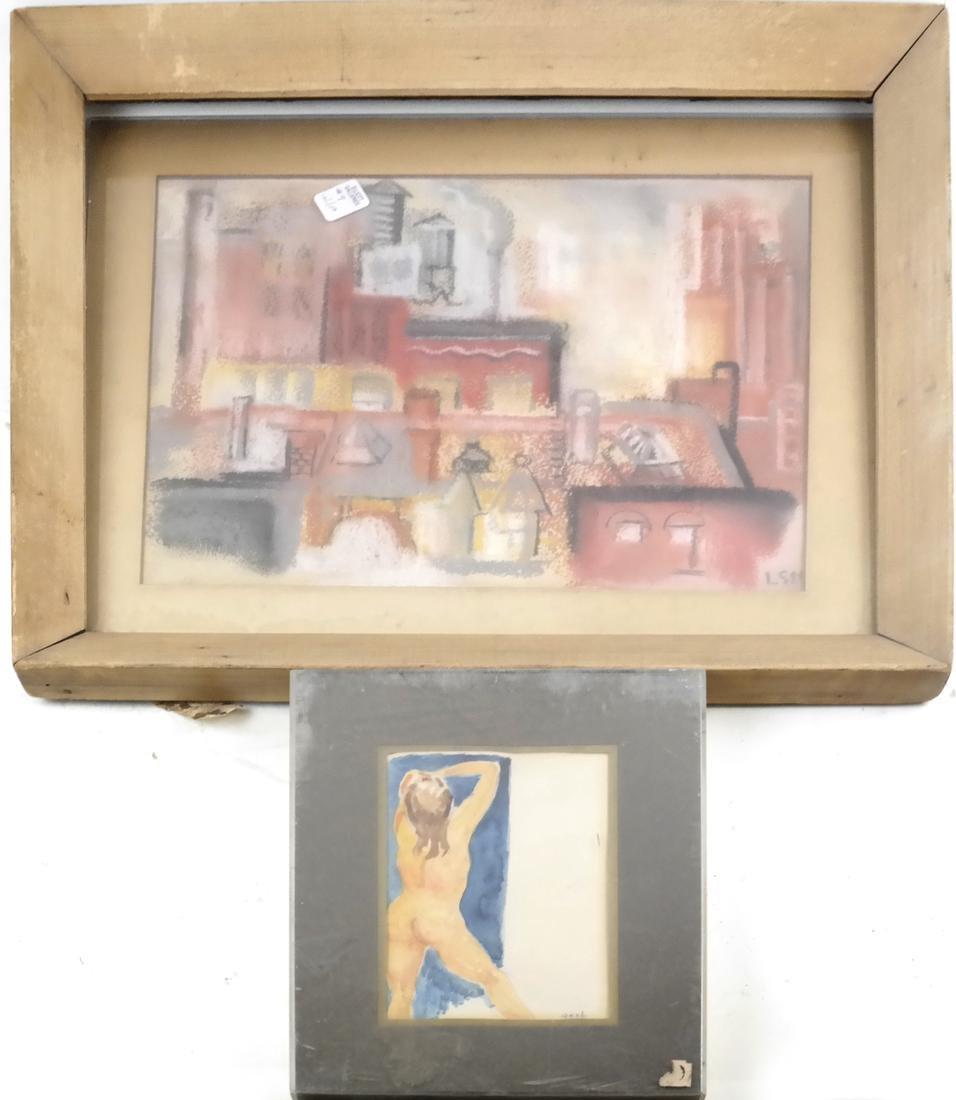 Box Lot of Art - 4