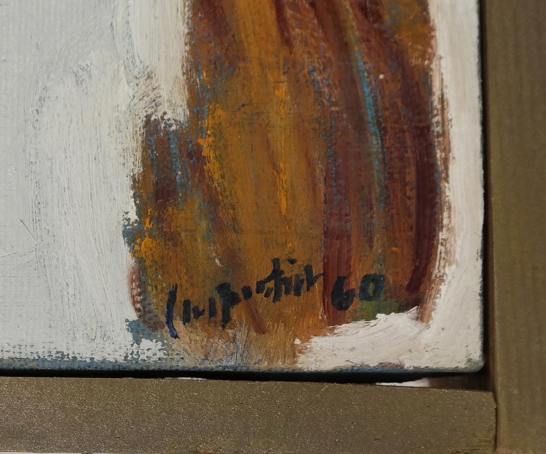 """Carpentier, """"Landscape,"""" Oil on Canvas - 3"""