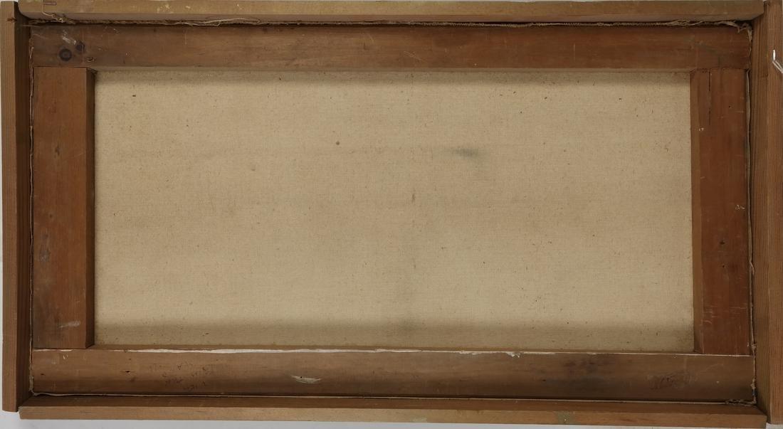 """Carpentier, """"Landscape,"""" Oil on Canvas - 4"""