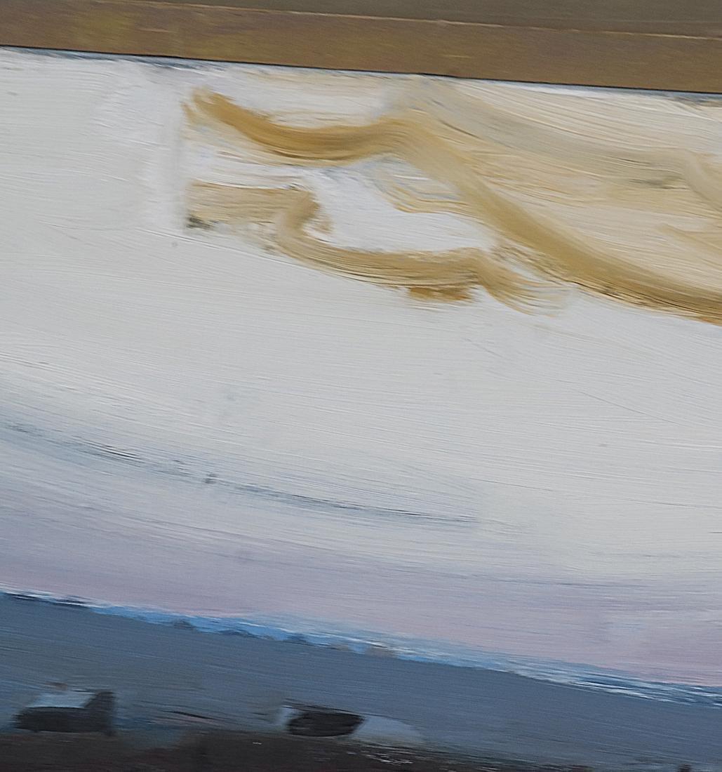 """Carpentier, """"Landscape,"""" Oil on Canvas - 5"""