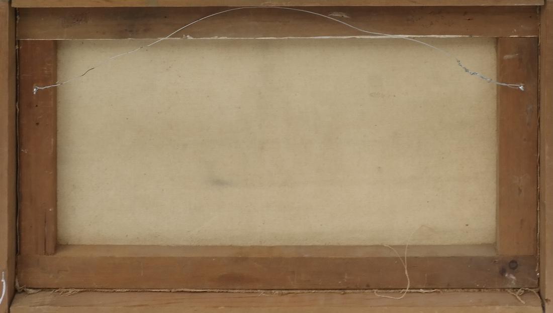 """Carpentier, """"Landscape,"""" Oil on Canvas - 6"""
