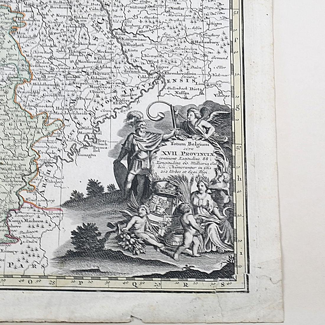 """Map """"Totum Belgium XVII Provincia"""" - 2"""