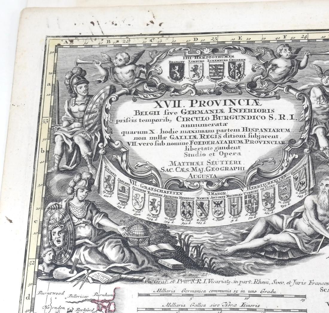 """Map """"Totum Belgium XVII Provincia"""" - 3"""