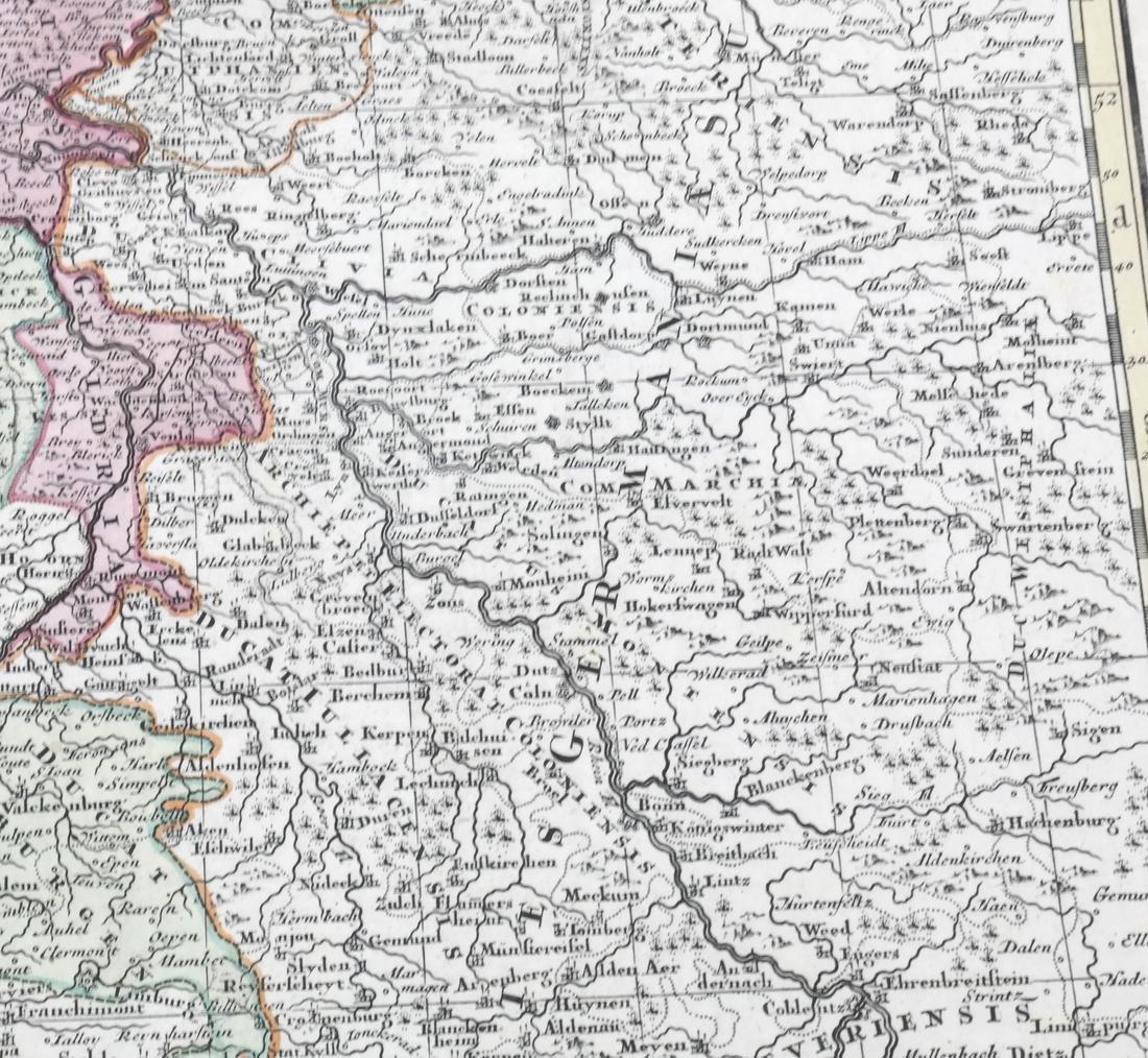 """Map """"Totum Belgium XVII Provincia"""" - 5"""