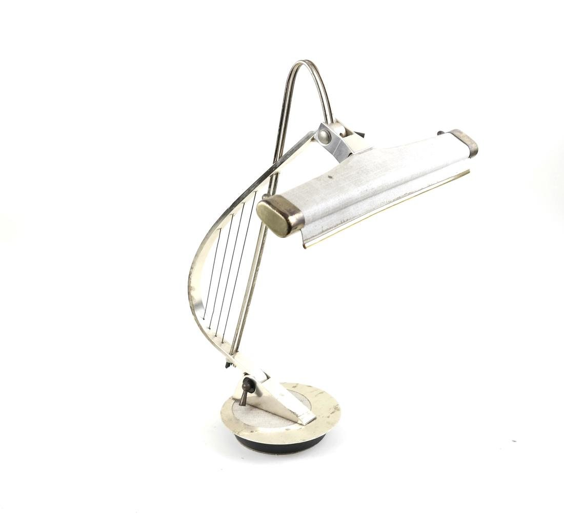 Modernist Harp Lamp