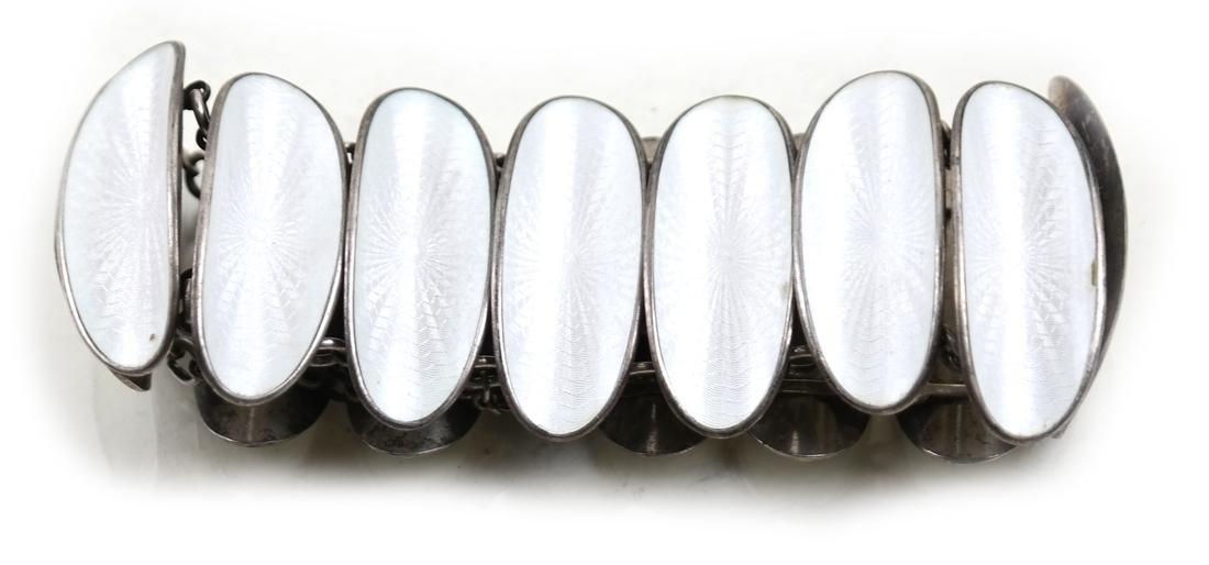 David Anderson Enamel Bracelet