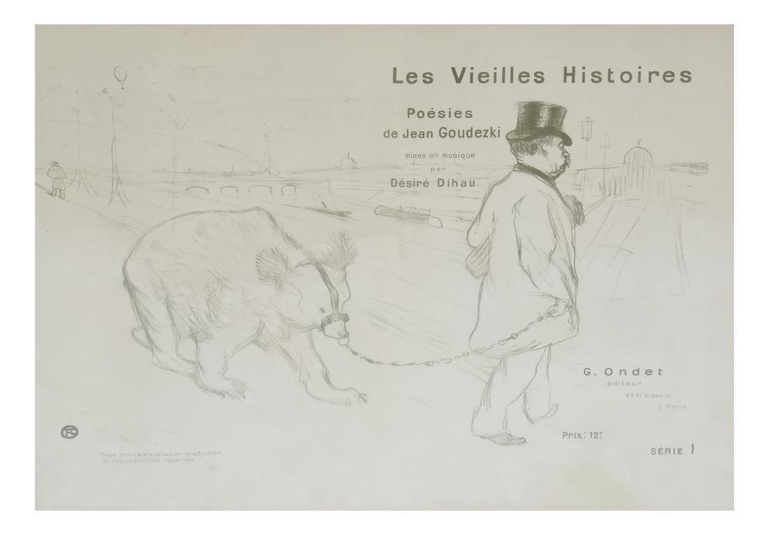 Henri de Toulouse-Lautrec Lithograph