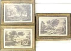 Three English Landscape Prints