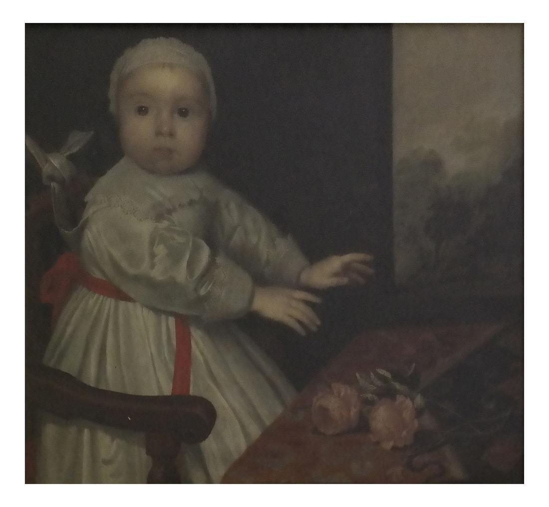 Oil on Canvas, Portrait; Mrs. Vincent Astor