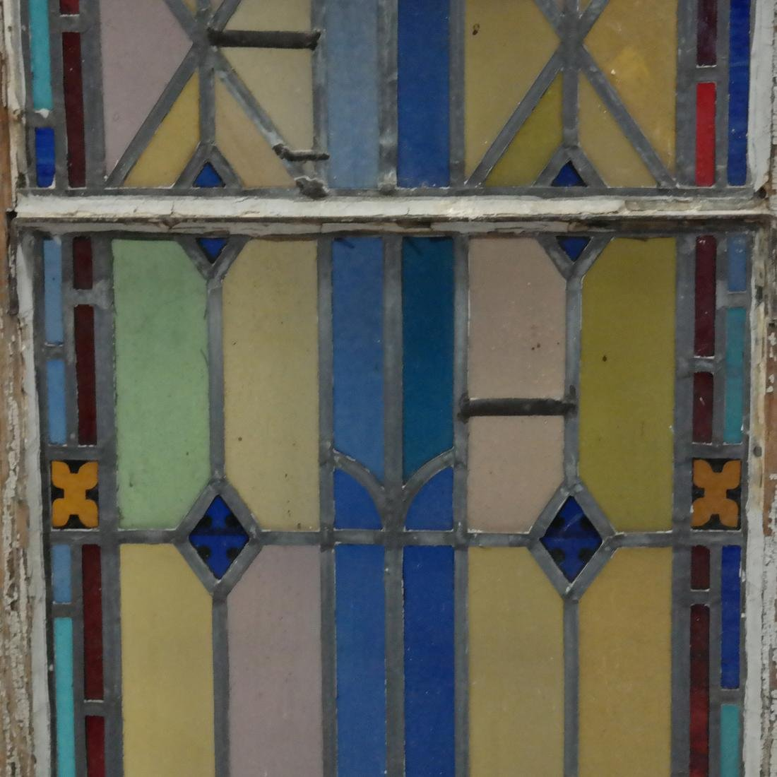 Early 20th Century Stained Glass Window - 3