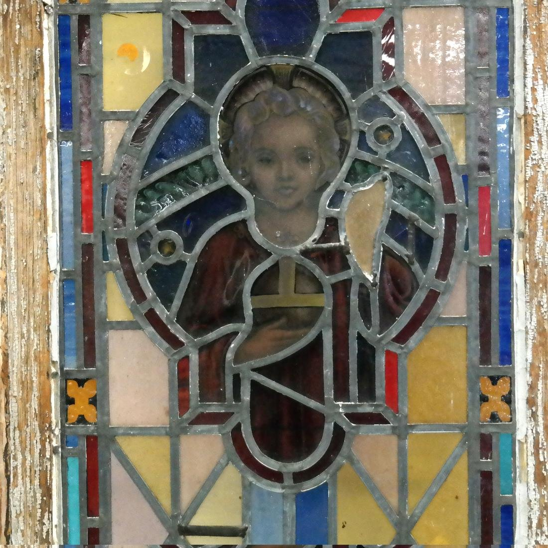 Early 20th Century Stained Glass Window - 4
