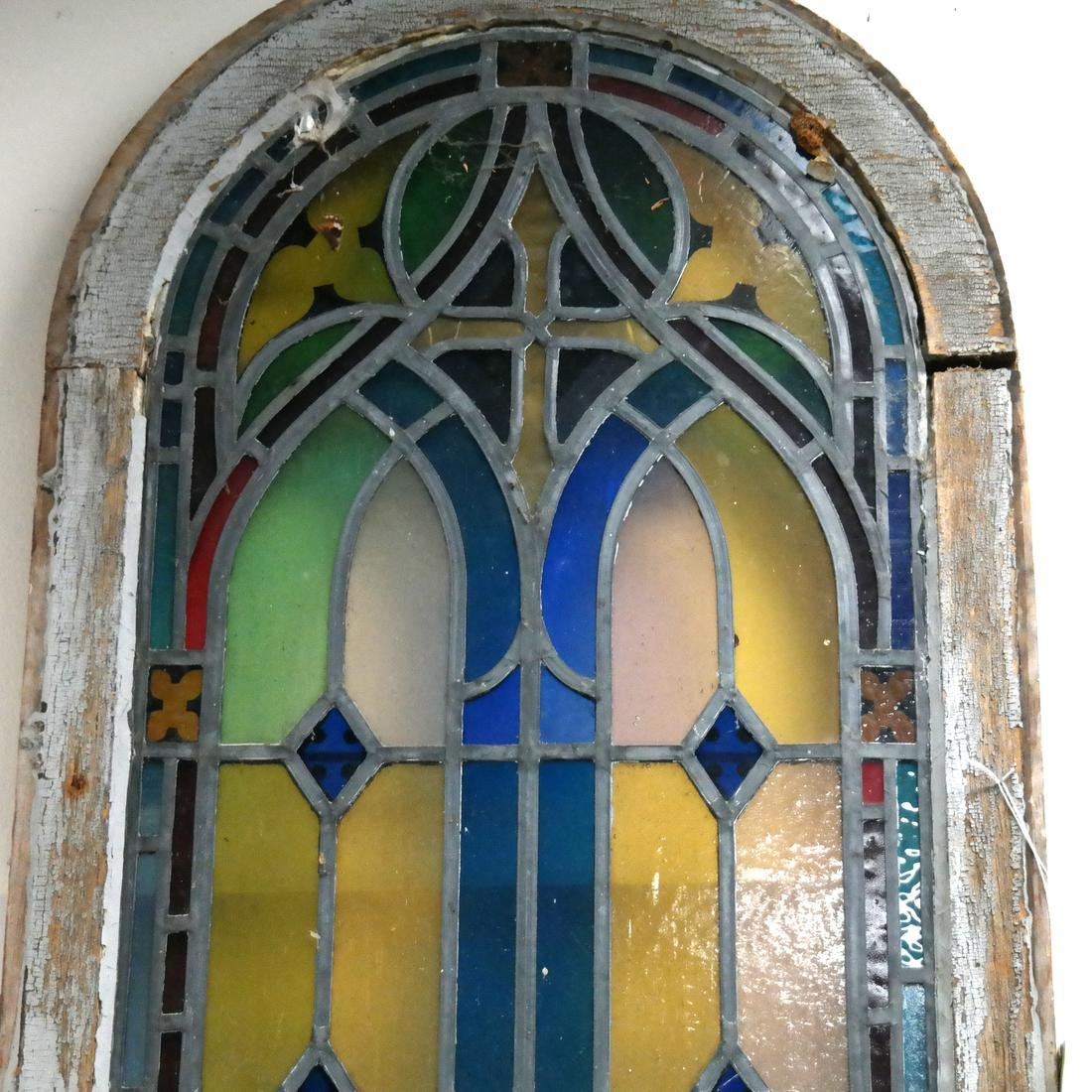 Early 20th Century Stained Glass Window - 5