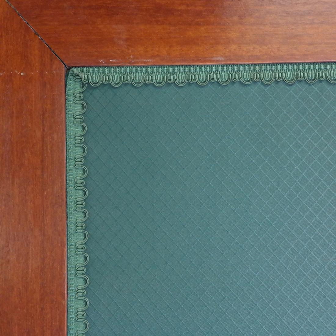 Upholstered 3-Part 19th Century Room Divider - 4