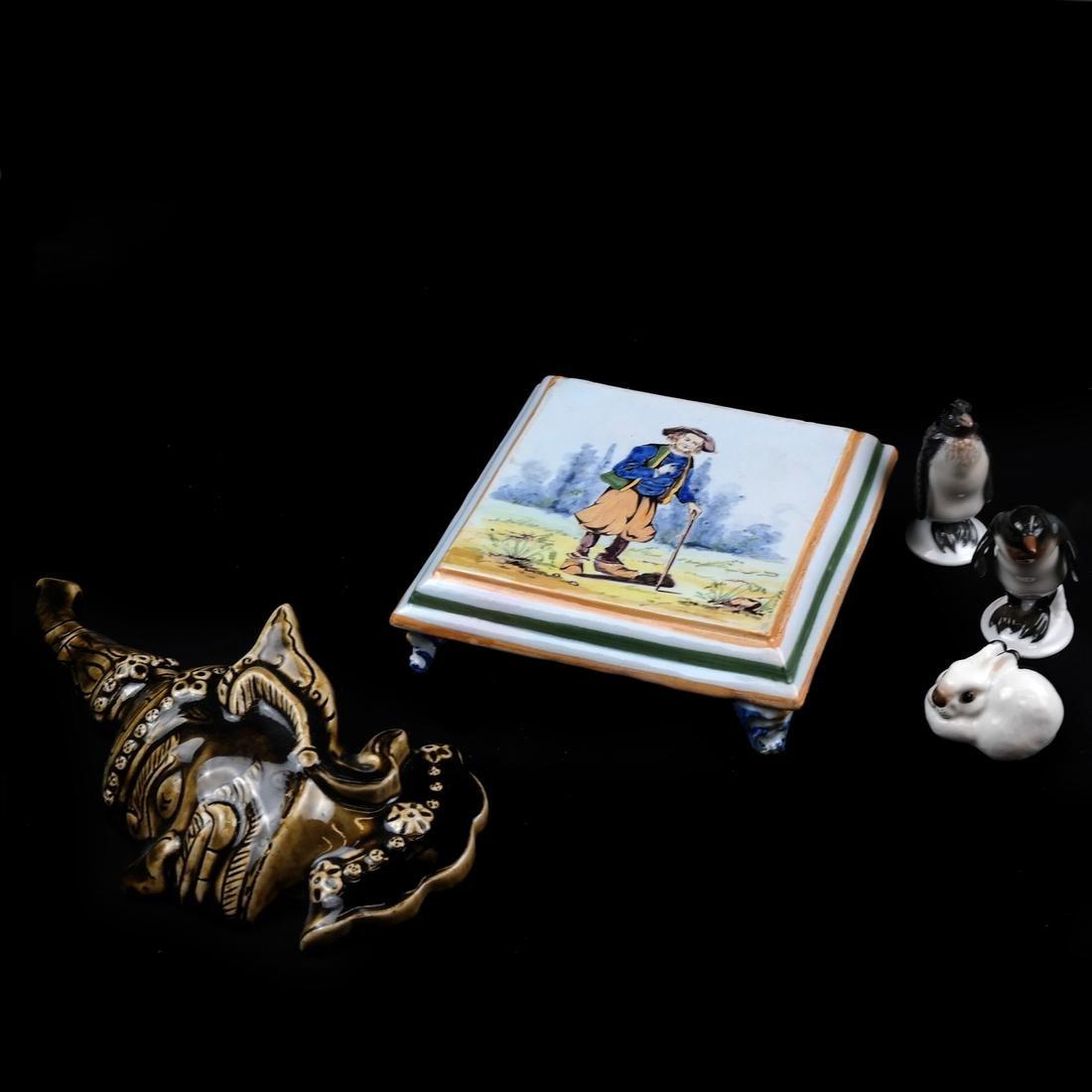 Porcelain Group; Rosenthal, Russian Porcelain