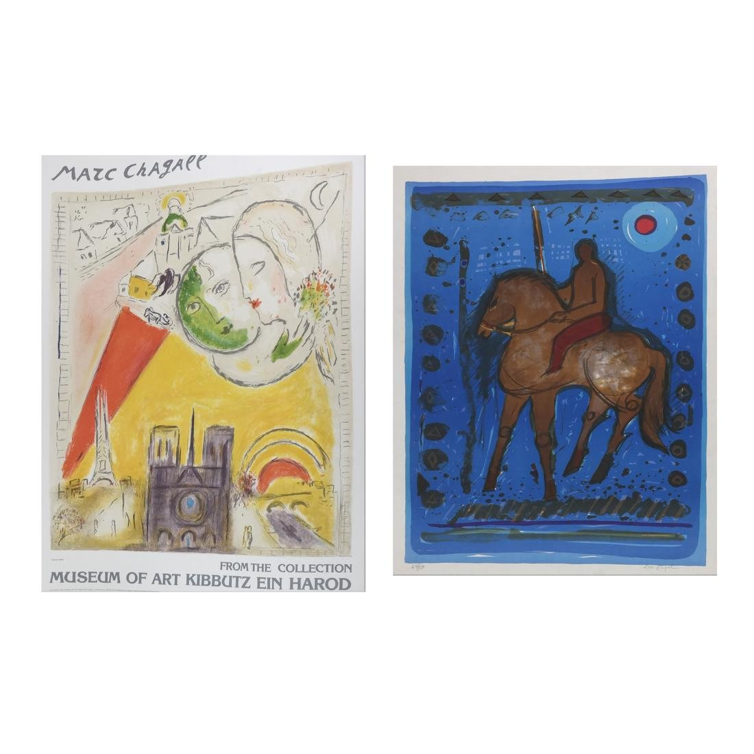 Group of Lithographs, Posters, Graphics; Chagall, more - 2