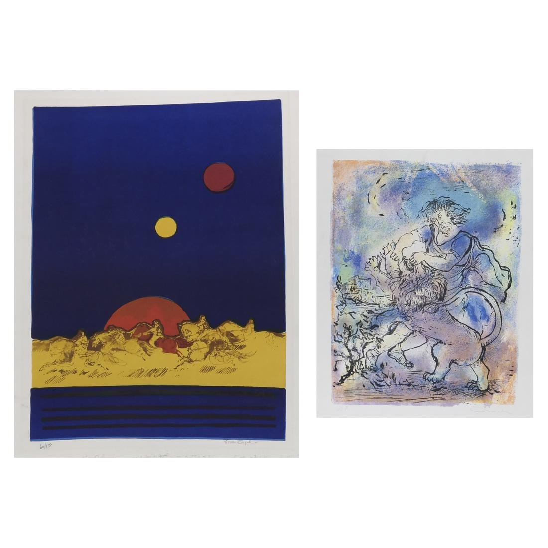 Group of Lithographs, Posters, Graphics; Chagall, more - 3