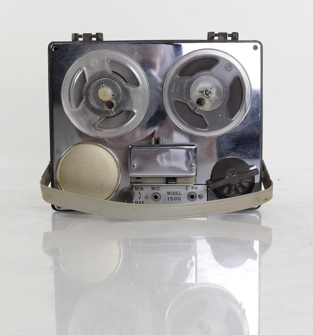 Acme Portable Reel-to-Reel Tape Recorder, Model 15