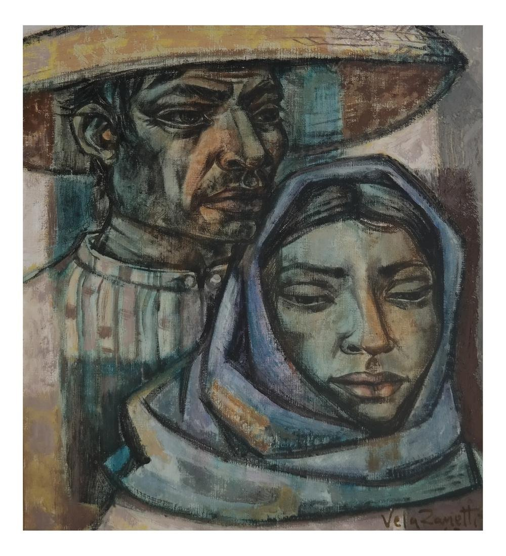 Jose Vela Zanetti (Spanish, born - 1913) - Couple