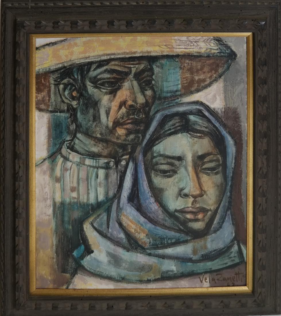 Jose Vela Zanetti (Spanish, born - 1913) - Couple - 2