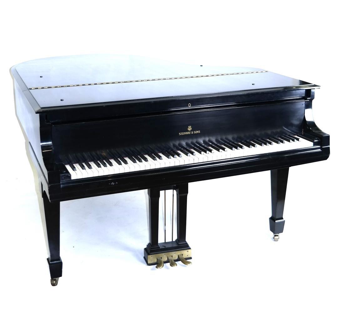 Steinway & Sons, New York Model M Studio Grand Piano - 8