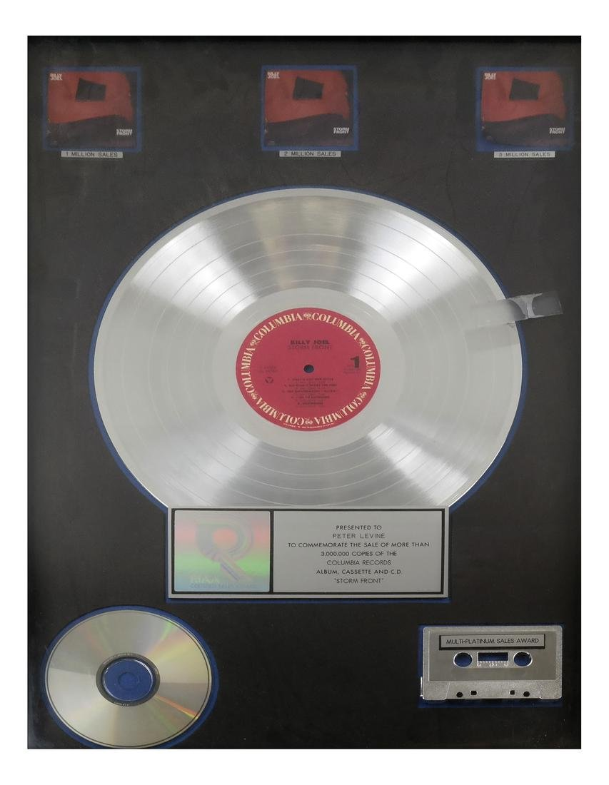 Billy Joel Platinum Records