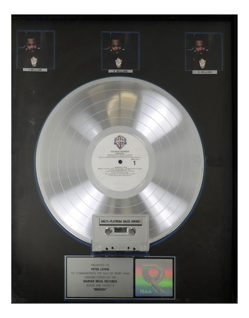 George Benson Platinum Record
