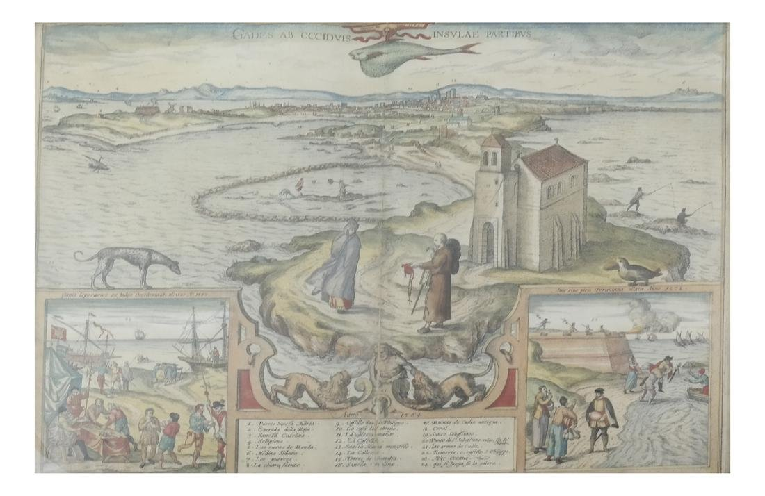 Captus Incanno 1564 Map - Georg Hovennagitus