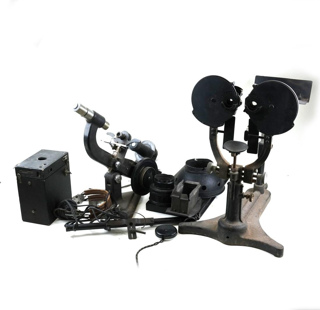Optometrist Testing Equipment and Parts