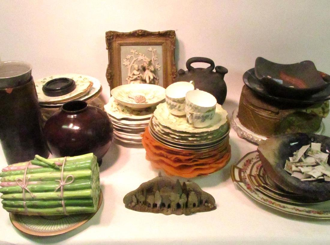 Six Boxes of Porcelains and Ceramics