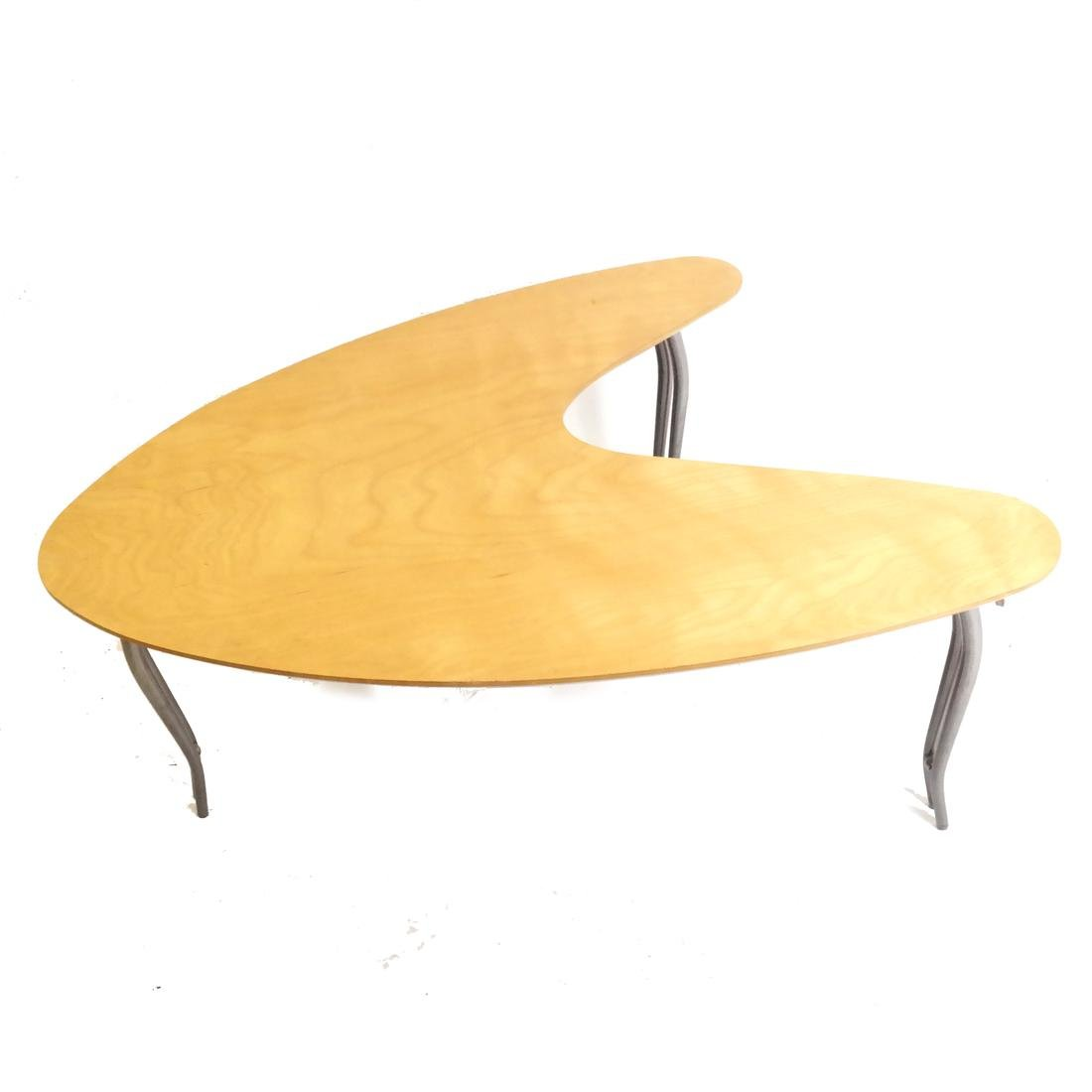 Modern Boomerang-Form Cocktail Table