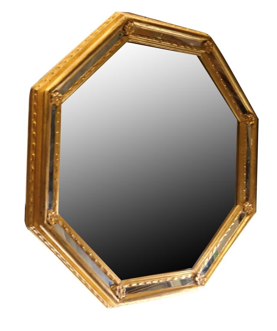 Venetian-Style Gilt Wood Mirror