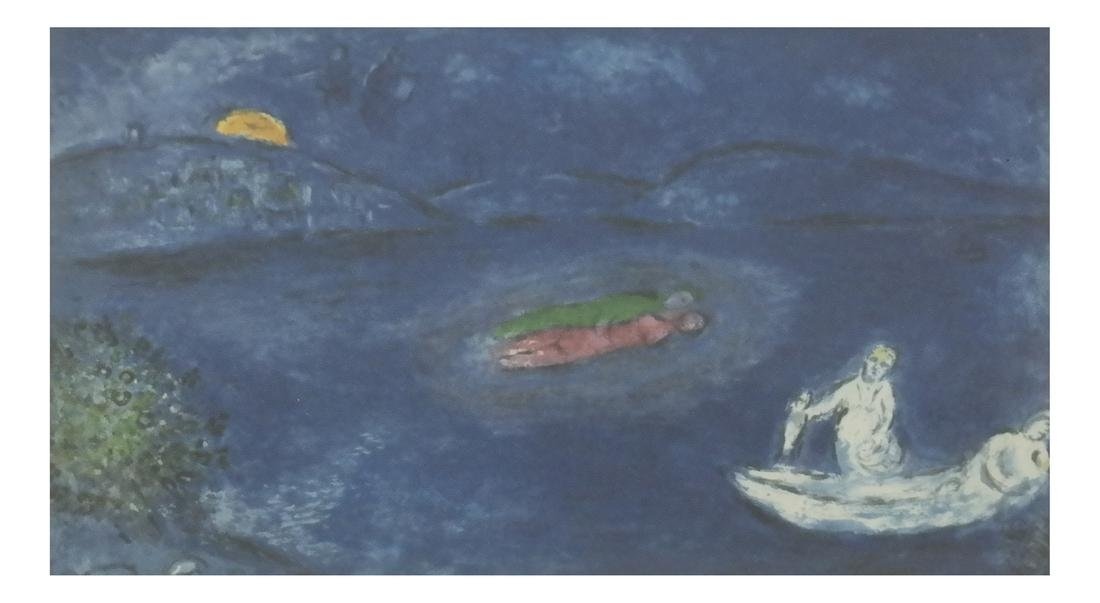 Chagall-Style Oil Painting