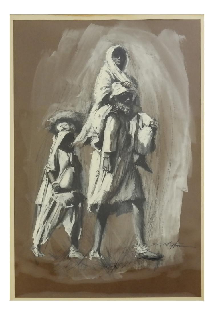 Robert Clayton, Bedouin Family