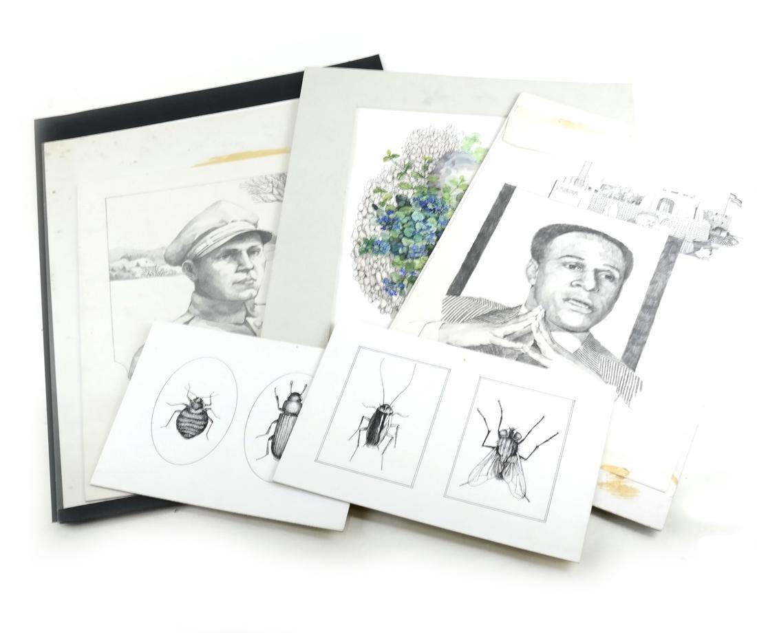 Ray Skibinski, 5 Original Illustrations