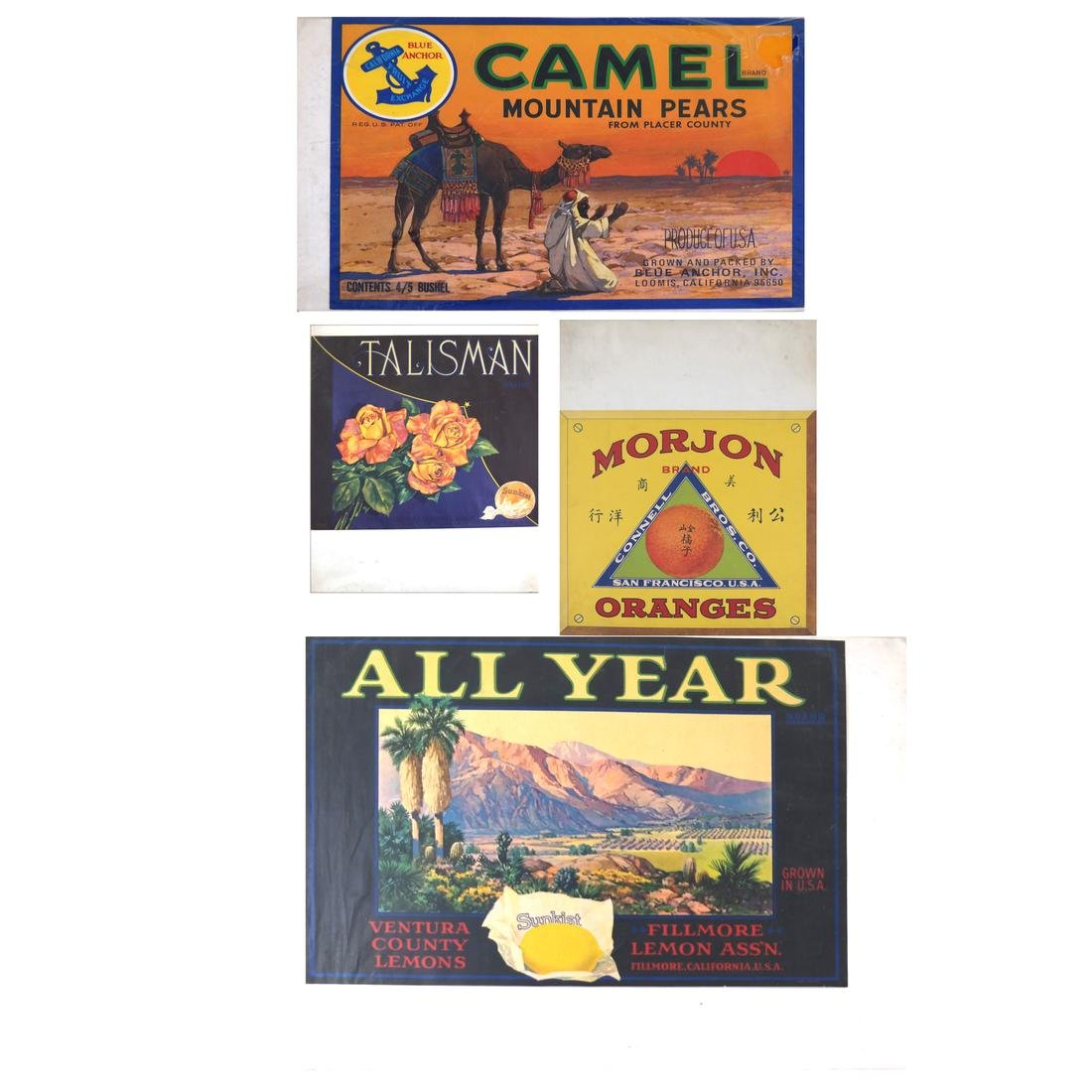 Four Advertising Prints