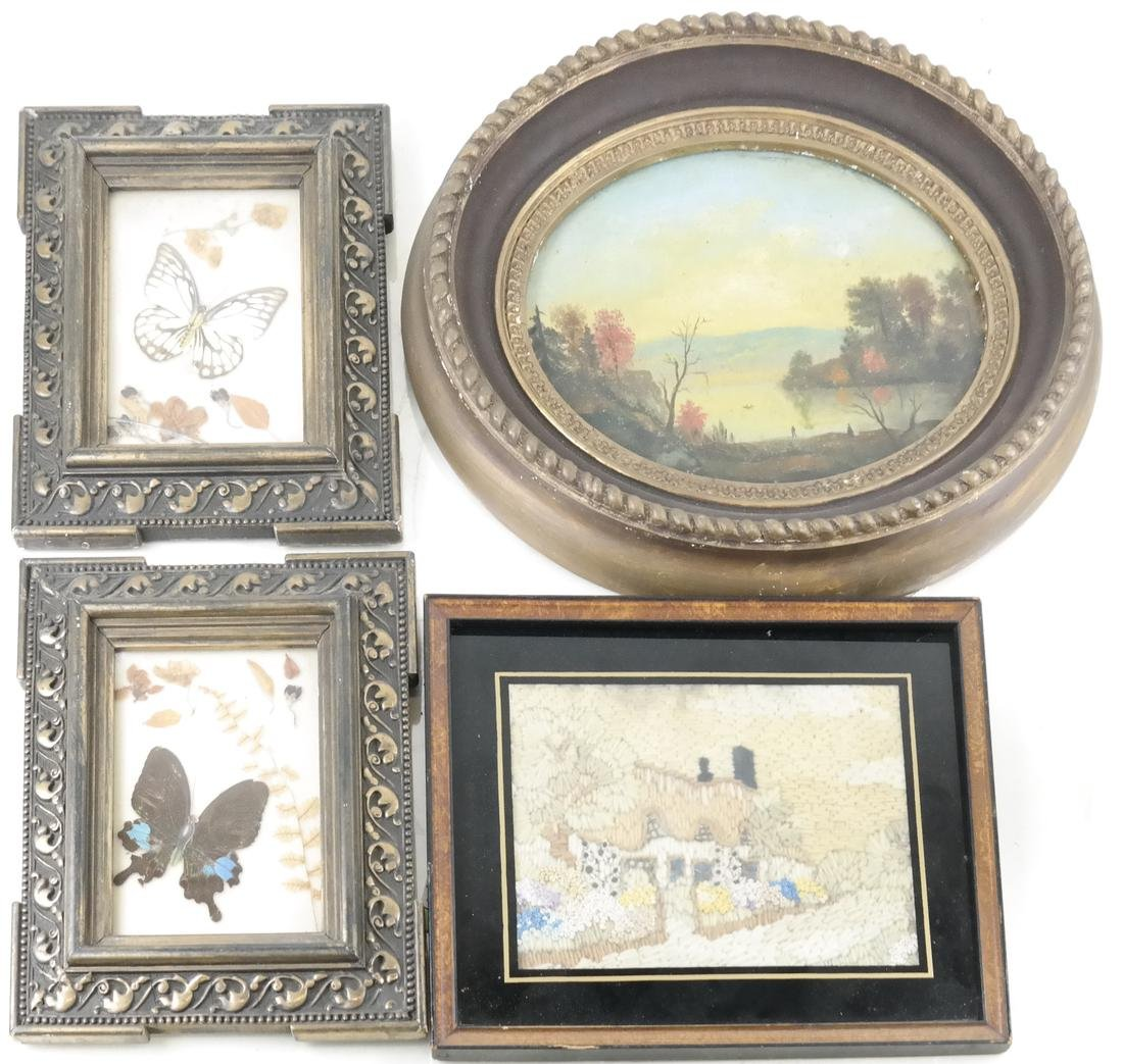 Four Art Objects