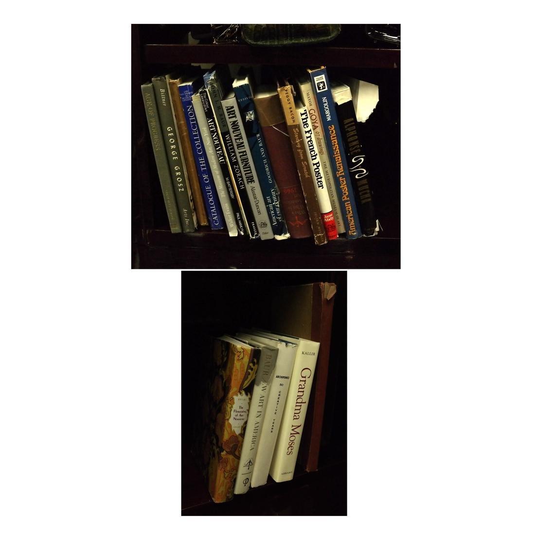 19 Books, American and European Fine Art
