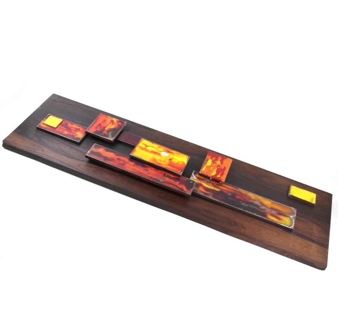 Mixed Media on Wood Panel