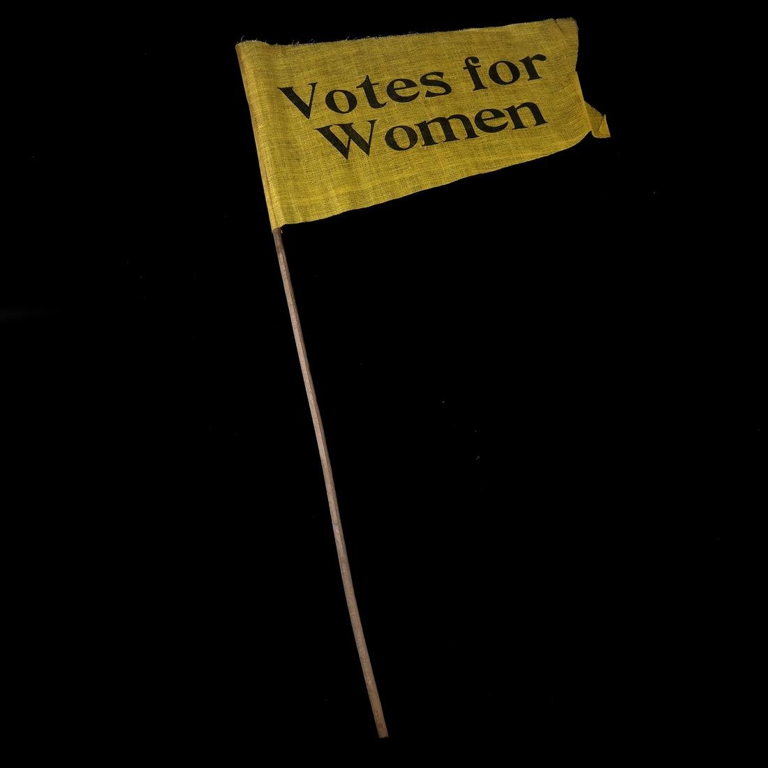 SUFFRAGETTE MARCH FLAGS