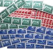 GERMAN OCCUPATION POLAND WWII REVENUE STAMPS