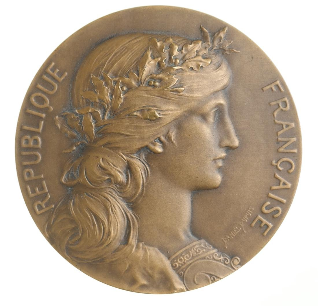 RETROSPECTIVE EXPOSITION OF LEGION OF HONOR MEDAL,