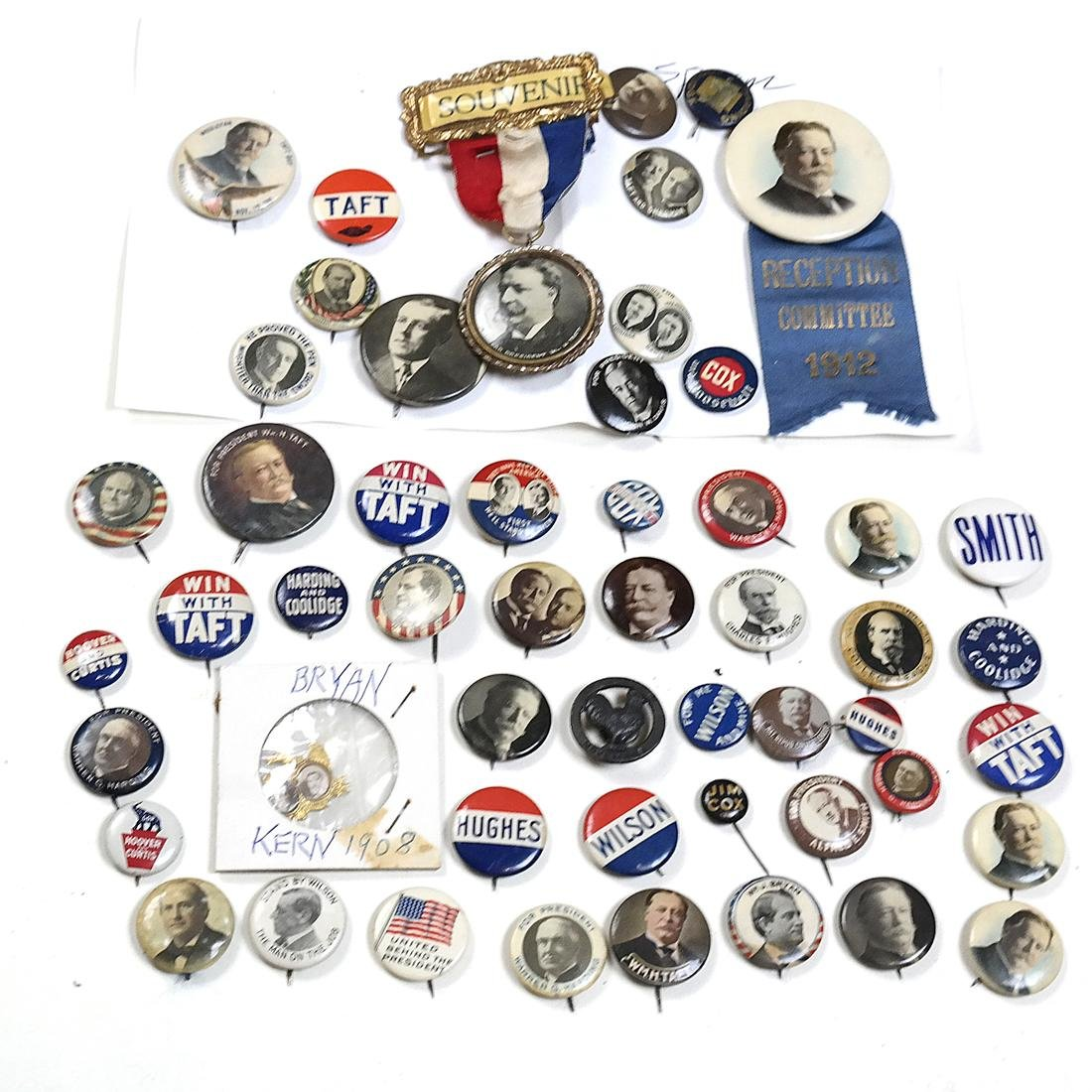 GROUP OF EARLY 20TH CENTURY CAMPAIGN BUTTONS