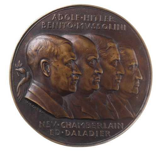 Germany Munich Agreement Medallion 1938