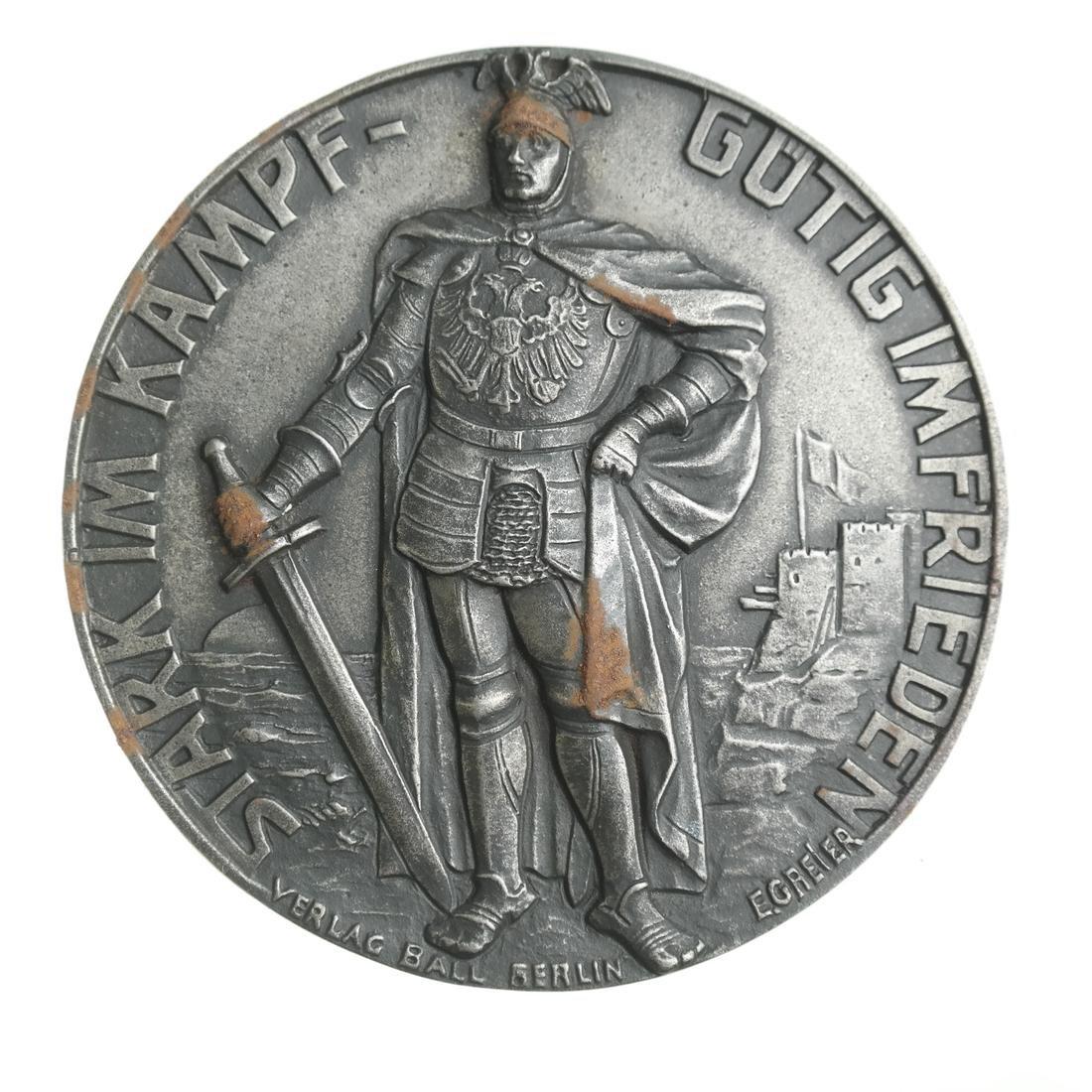 AUSTRIA. ARCHDUKE KARL FRANZ JOSEF MEDALLION, 1915.