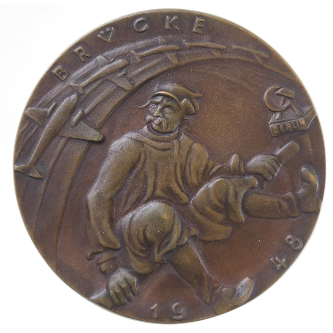 GERMANY. ANGLO-AMERICAN BERLIN AIRLIFT MEDALLION, 1948