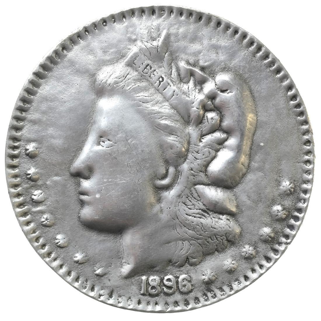 LIBERTY HEAD DOLLAR, 1896.