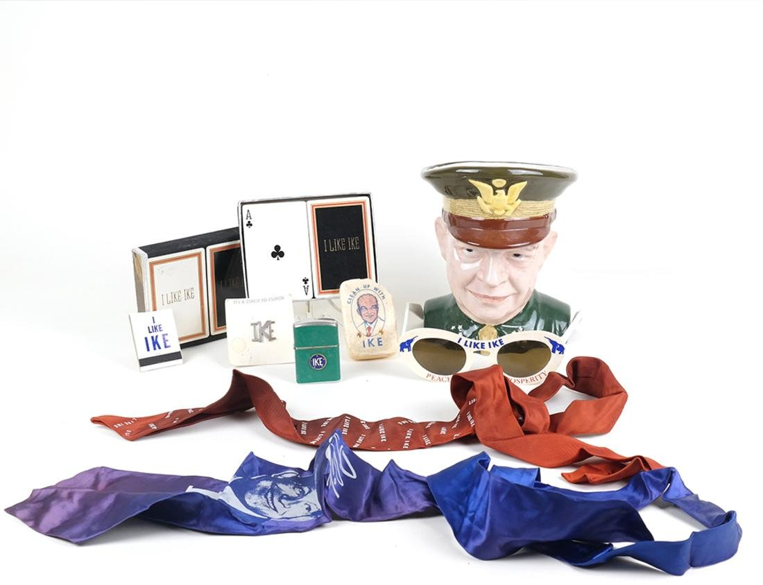 COLLECTION OF DWIGHT D. EISENHOWER MEMORABILIA