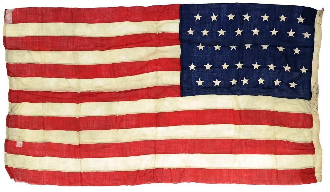 U.S. 37 STAR FLAG (1867-1876)