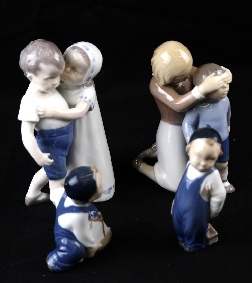 Royal Copenhagen and B&G Danish Porcelain Sculptures