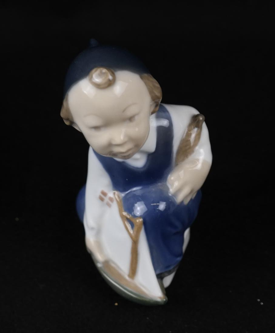 Royal Copenhagen and B&G Danish Porcelain Sculptures - 5